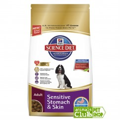 Hill's Canine Adult Sensitive Somach And Skin 15.5Lb