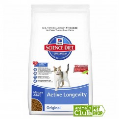 Hill's Feline Adult Mature Active Longevity 4Lb