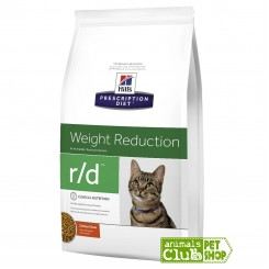 Hill's Prescription Diet Feline r/d Weight Reduction 4Lb